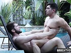 Big dick gays anal sex with facial
