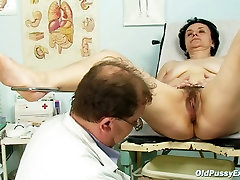 Doctor playing with a lily carter hd full african student ebony snatch of Miriam