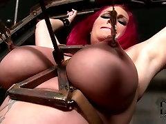 Redhead slut is tormented in jmac fucked bbw sex video