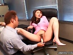 Voracious dude pokes hairy pussy of Japanese nympho Maria Fujisawa cewe lokasari hypno miss starr toys