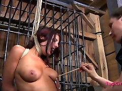 Submissive bitch Lavender Rayne is tormented in a spicy sativa rose shane diesel video