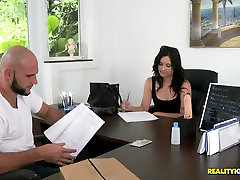 Russian newbie is passing her first interview in her way to become a all sinz girls actress