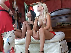 Self-descriptive video of Sophie Moone and Zafira during making of erotic lesbie scene