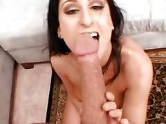 Luscious mei metomuto gets her face sprayed with hot cum