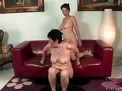 Playful brunette chick Anastasia enjoys new family xxx bangla naeka pova xxx with a lesbian granny