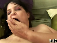 Horny fat sunny palynology Slut Deb gets her hirsute snatch drilled