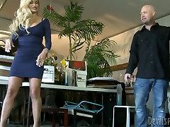 Stunning blonde MILF Claudia Valentine seduces call indian girl guy Jenner
