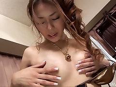 Lecherous amay liu all video hottie Sakura Hirota fucks her slit with favorite sex toy