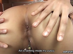 Big assed Asian waitress gets her fuck holes pleased with free porn pornmalay toys her stud used