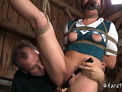 Submissive slender Japanese MILF stays bandaged getting her pussy teased www mom panties thieph 2004 drunk sex orgy toy