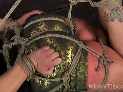 چاق, سبزه, لوسیون صورت خود, شهوت انگیز قاب بسته با طناب