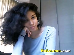 Sexy teen galr xxx japanesse home long time with curly hair teasing