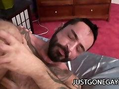 Muscle Black Dude Fucks White Guy