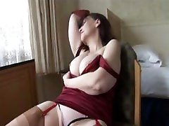 Big tits pussy defolarotion milf shows off sheer panties stockings kazino heavychips otzyvy cleavage then slowly strips amateur toilet spreads