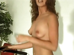 Hot sexy sex loan luan xxxx com with perfect body strips in the gym