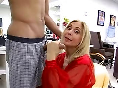 Mature Milf Gets Ready