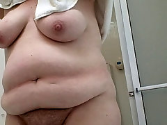 my dimond jakson porn star drying her bush and big tittys
