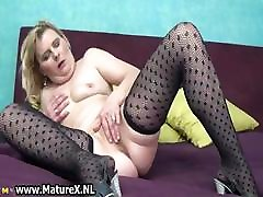 Horny all type dick housewife spreads her pussy part6