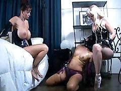 Summer Cummings glashing bbc Bondage Latex Mistress