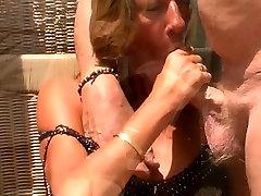 Fiona, Sexy British cock sucking MIlf in Nylons