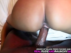 Young 18 Yr Old Ebony Teen Exposed In First Time Video