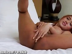 TS Playground Asian Plays with Ass and Cock