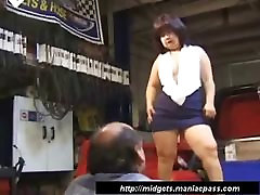 Asian fec sunny lone fucked in her shaved pussy