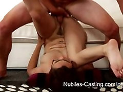 jepang sex bokep Casting - Will a messy facial get her the job?