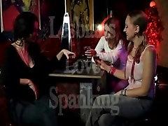 Lesbian love spanking and public punish toys