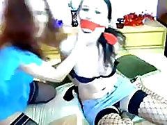 Lesbian bondage tickle -More on fantasticcam.net.mp4
