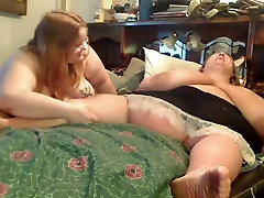 Horny Fat Obese Lesbians playing with each other