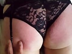 My ass geting spanked ny Asian Master