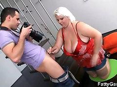 چرب ورزش ها fucks در یک زن عکاس