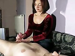 Amateur Wife Handjob Compilation red velvet top tr