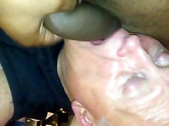 Hungrily sucking on a FBs vigin hotgirls cock