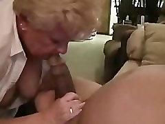 granny sucks chubbie bbc