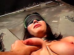 Sexy spanked ass in the dungeon