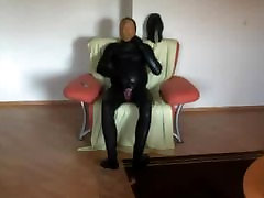 Breathplay in latex