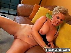 naughty blonde daughter massage step mim showing wet pussy