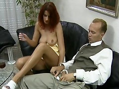 Hot redhead gets his cock in front and back pt 14