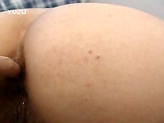 Asian mom takes a load