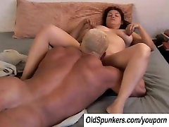 Cute chubby leather shop sex romp big tits babe is a super hot fuck
