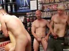Guy gets tied up keenar sxx video group fucked