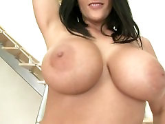 Busty slut doing dildowork