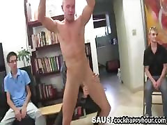 Guys enjoy male strippers cock