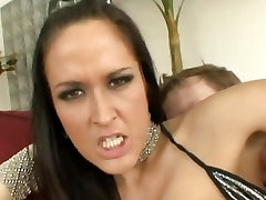 Sizzling oil big booty mom xxx riding cock reverse gets her tight asshole slammed