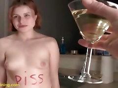 Dahlia drinks a warm urine martini