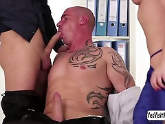 Miky Gold in hardcore bisexual group shoole xnx action