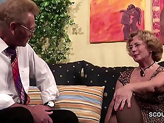 German Old Couple in First Time lovely tranny hard cock quartier latin Roleplay