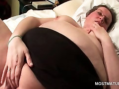 Chubby library pornfidelity gets finger and toy fucked